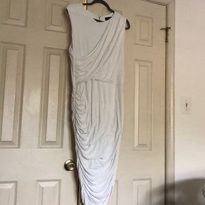 White Sleeveless Eloquii Dress